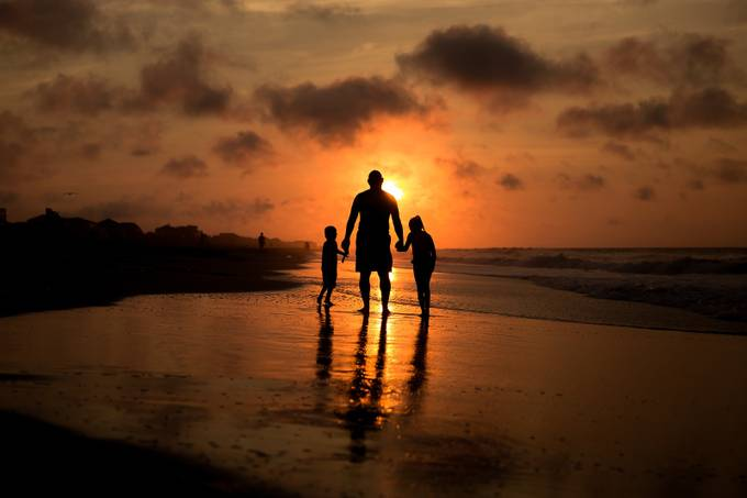 Sunrise on Folly by AshleyGoverman - We Love Our Dads Photo Contest