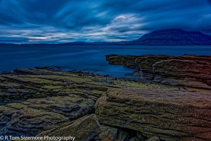 Taken as a long exposure photograph (225 seconds @ ISO 50 f/8.0) in Engol, Isle of Skye, Scotland.