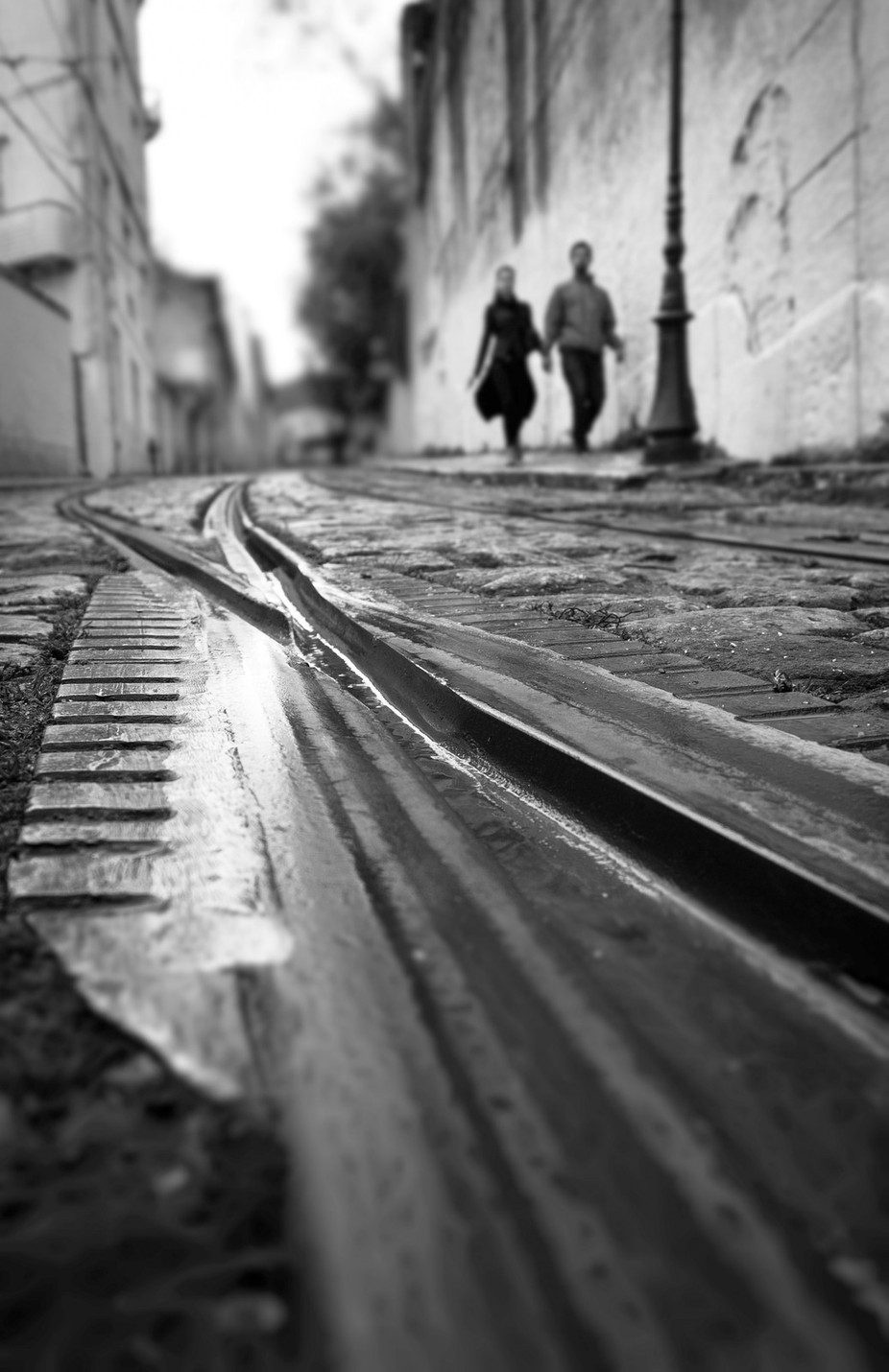Cross Lines by clementinacabral - City Life In Black And White Photo Contest