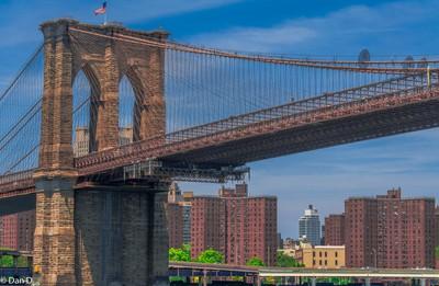 Brooklyn Bridge  - Manhattan Side
