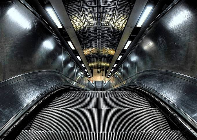 Down by Svetlana_Sewell - Metro Stations Photo Contest