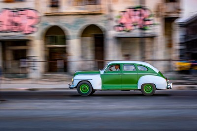 On the streets of Old Havana