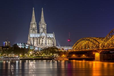 Iconic Cologne Skyline 2016