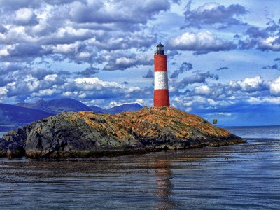 Lighthouse in the Beagle Channel - Patagônia
