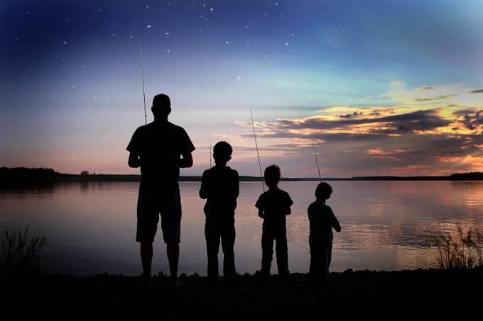 Father Son Fishing by katyvetter - We Love Our Dads Photo Contest