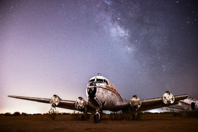Flying Under the Stars