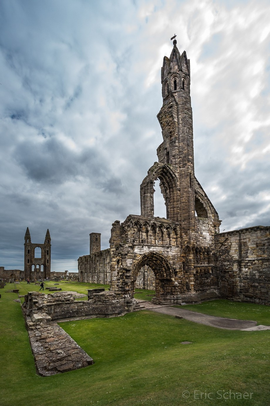 St Andrews Cathedral by ericschaerphotography - Enchanted Castles Photo Contest