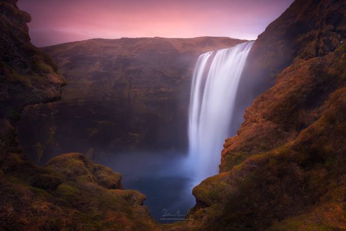 Trolls and The Skógafoss, Iceland by patrickmarsonong - Beautiful Waterfalls Photo Contest