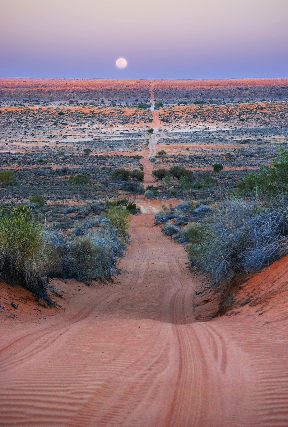 Across the Simpson Desert by Deboodle - A Road Trip Photo Contest