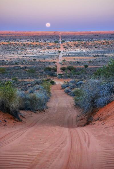 Across the Simpson Desert