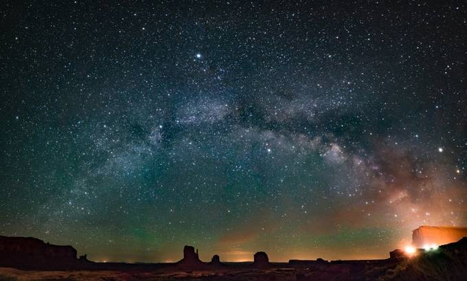 Galactic Monuments by MatthewKou - Capture The Milky Way Photo Contest
