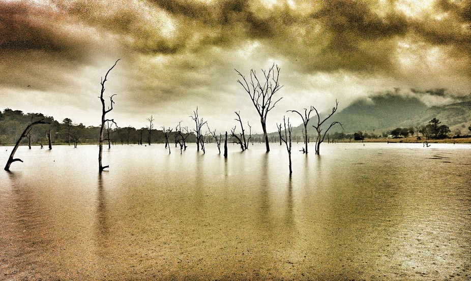 Taken on a ride home on a rainy day. HDR processing carried out on this photo to achieve the grai...