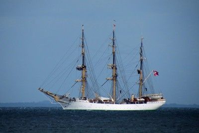 Training ship Denmark.