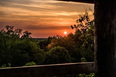 Sunset at the Treehouse