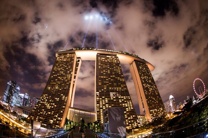 close encounters of the Singapore kind by frank-photography - Above Or Below Photo Contest