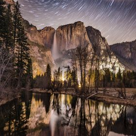 Yosemite - Star Trails