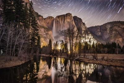 Yosemite - Star Trails