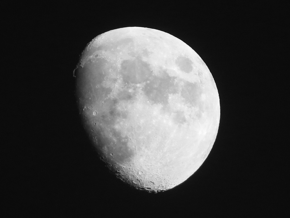 I love looking at the moon! It reminds me of how small and precious Life really is, and how large...