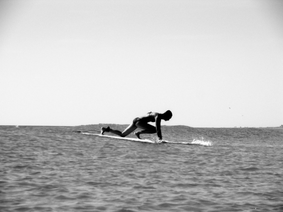 capturing surfers at Indialantic Bch