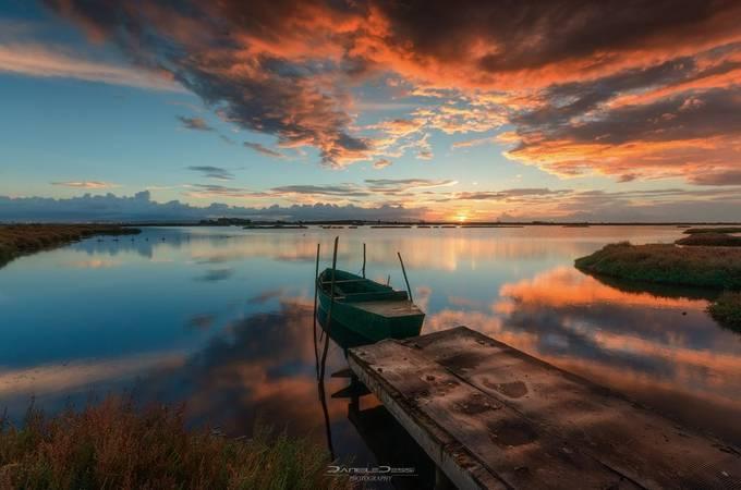 The boat at dawn by DanieleJ - Boardwalks Photo Contest