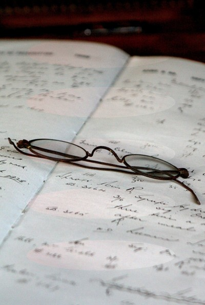 I am very short-sighted, & if I don't like a situation - I take my glasses off.
