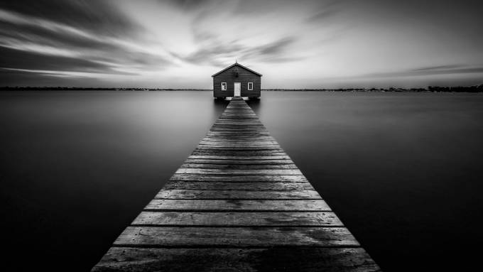 Gone into Tranquility by Despird - Promenades And Boardwalks Photo Contest