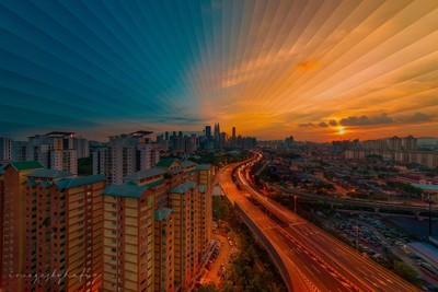 Kuala Lumpur, Time Sliced