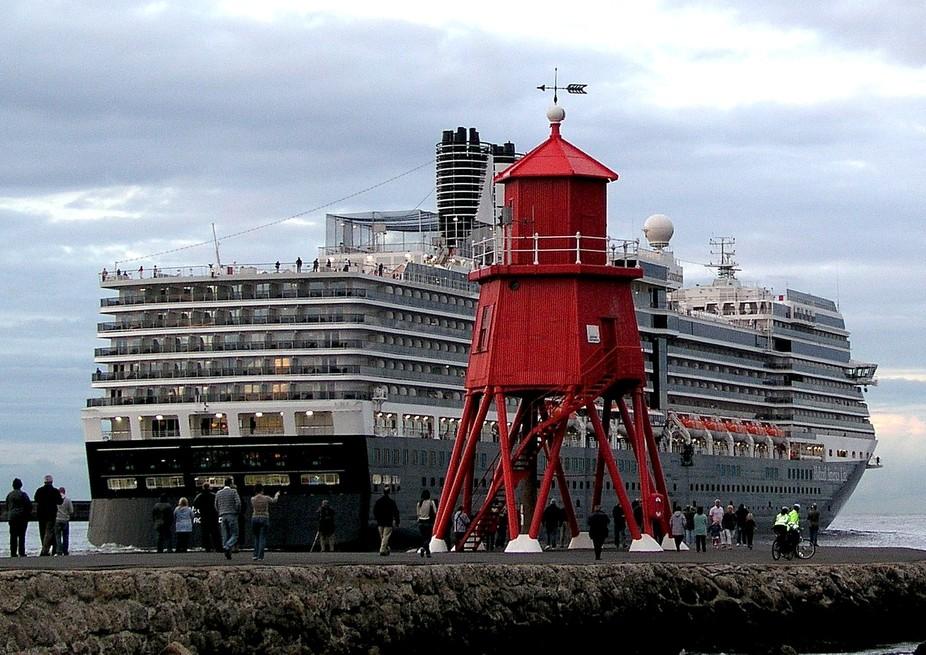 Eurodam at SS Groyne