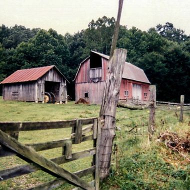 Old barn in Ohio