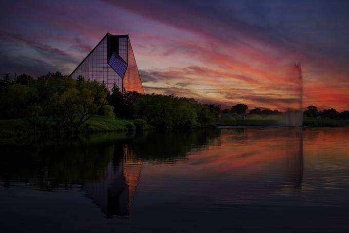 Royal Canadian Mint by rejeanbrandt - Modern Architecture Photo Contest