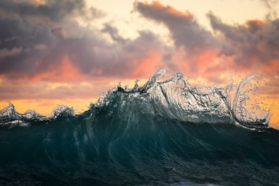 OCEAN FLAMES
