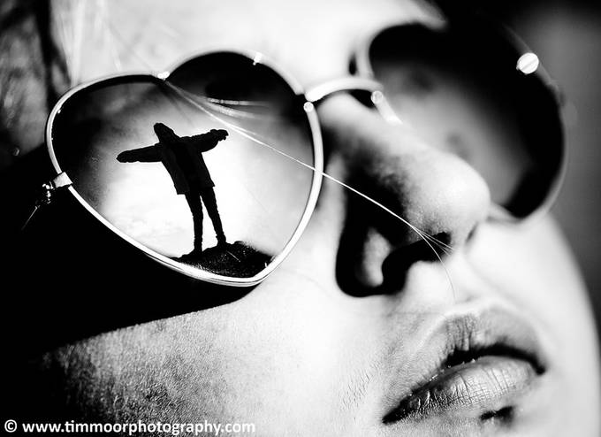 Reflective mood by TimMoor - Sunglasses Photo Contest