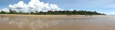 Overwiew from Balsa Beach, Coqueiral, Aracruz, ES, Brazil.