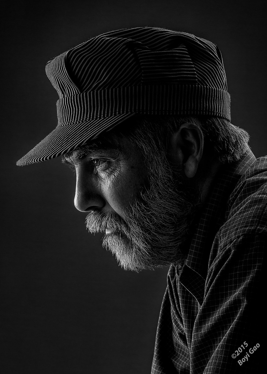 Quiet Time by drowning - Male Portraits Photo Contest