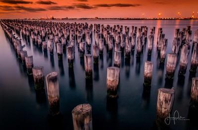 Princes Pier Sunrise