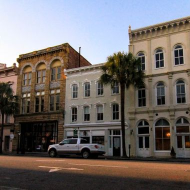 Board Street located in historic Charleston, SC. I'm so lucky to live in such a great city to photograph.