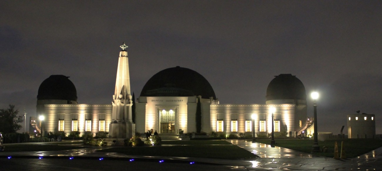 Griffith Observatory at Sunrise