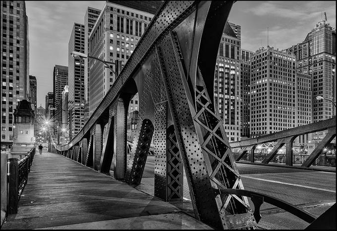 The Other Side of the Bridge by mjkirkland - Composing with Diagonals Photo Contest