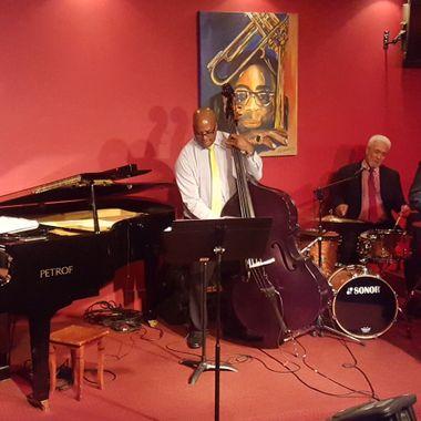 The Roger Clark Quartet jazzing it up at Dizzy's Jazz Club, Richmond (Melbourne) VIC