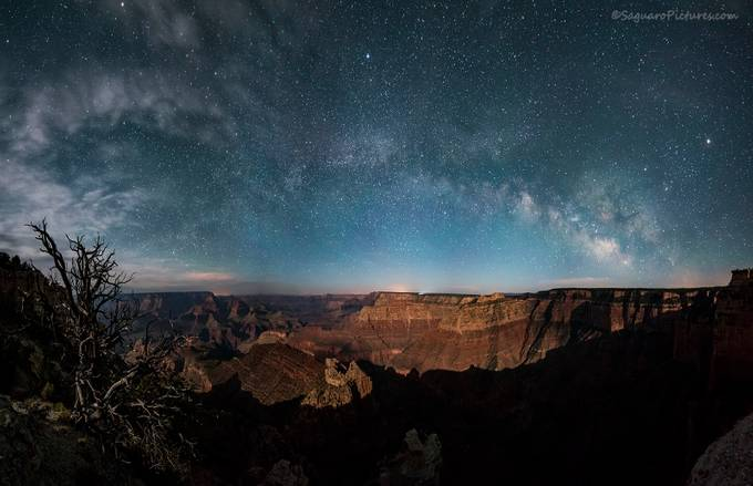 Grand Canyon Nights by SaguaroPictures - Magnificent Canyons Photo Contest