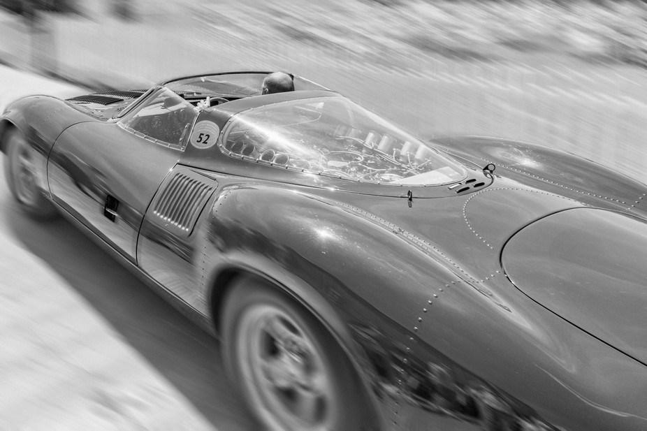There is only one Jaguar XJ13 in the world and you're looking at it!  Built as a potential Le M...