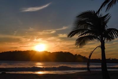 Carillo Beach Sunset