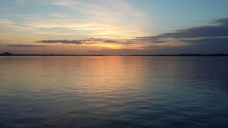 A Floridian sunset