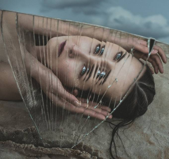 From Teardrop to the Grain of Sand by LaimaKavaliauskaite - The Face in the Mirror Photo Contest