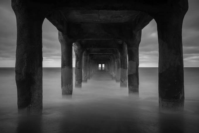 Floating Pier by Temu0014 - Black And White Landscapes Photo Contest