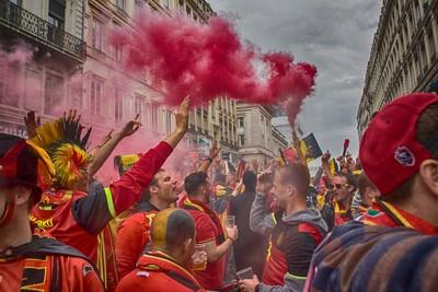 Belgium Fans Euro 2016