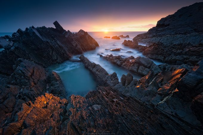 Hartland sunset by wildlifemoments - Sweeping Landscapes Photo Contest