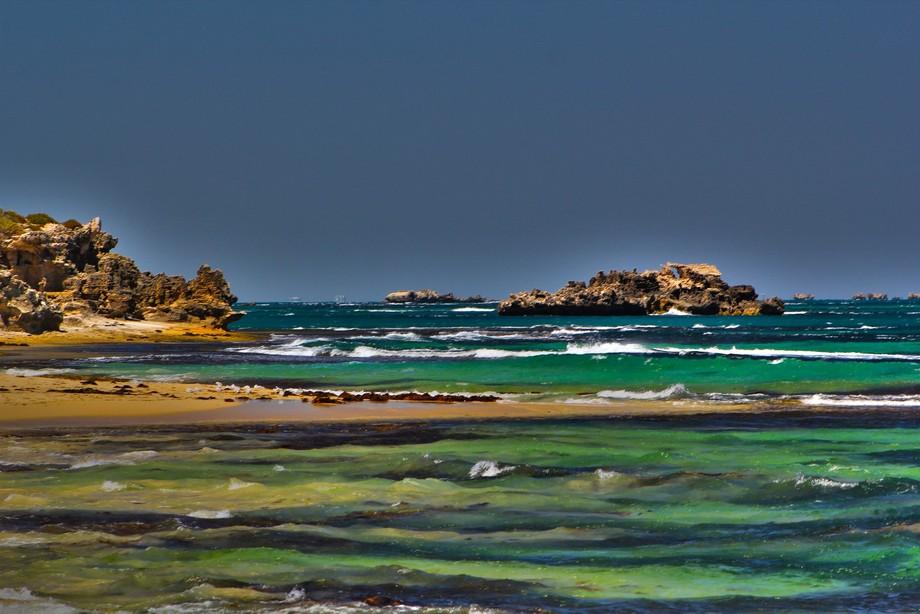 Island down under  Penguin Island is a 12.5 ha island off the coast near Perth, Western Australia
