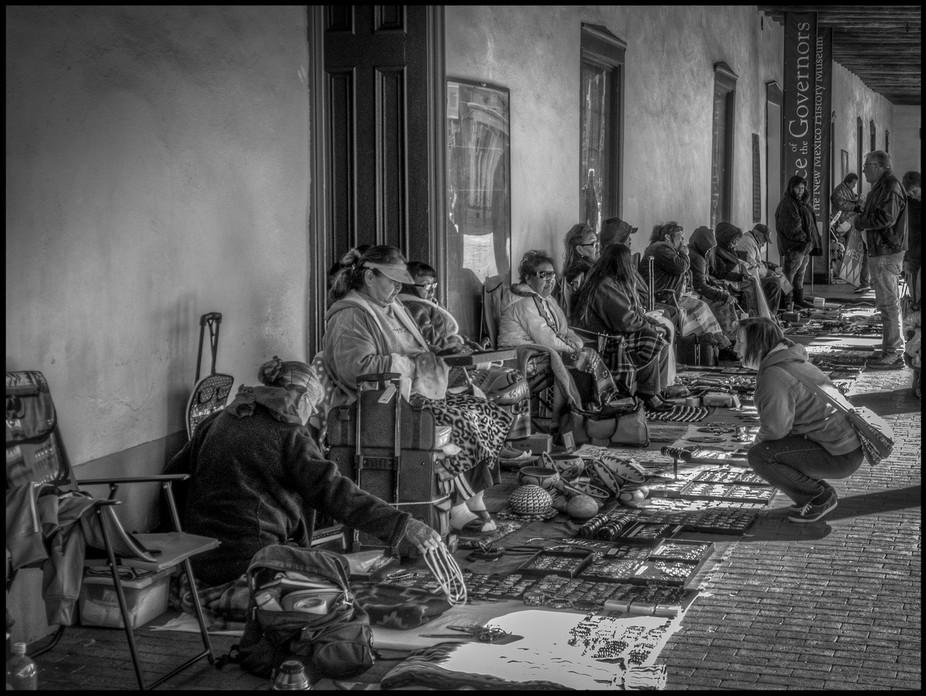 Indian Market, Hall of the Govenors, Santa Fe, New Mexico