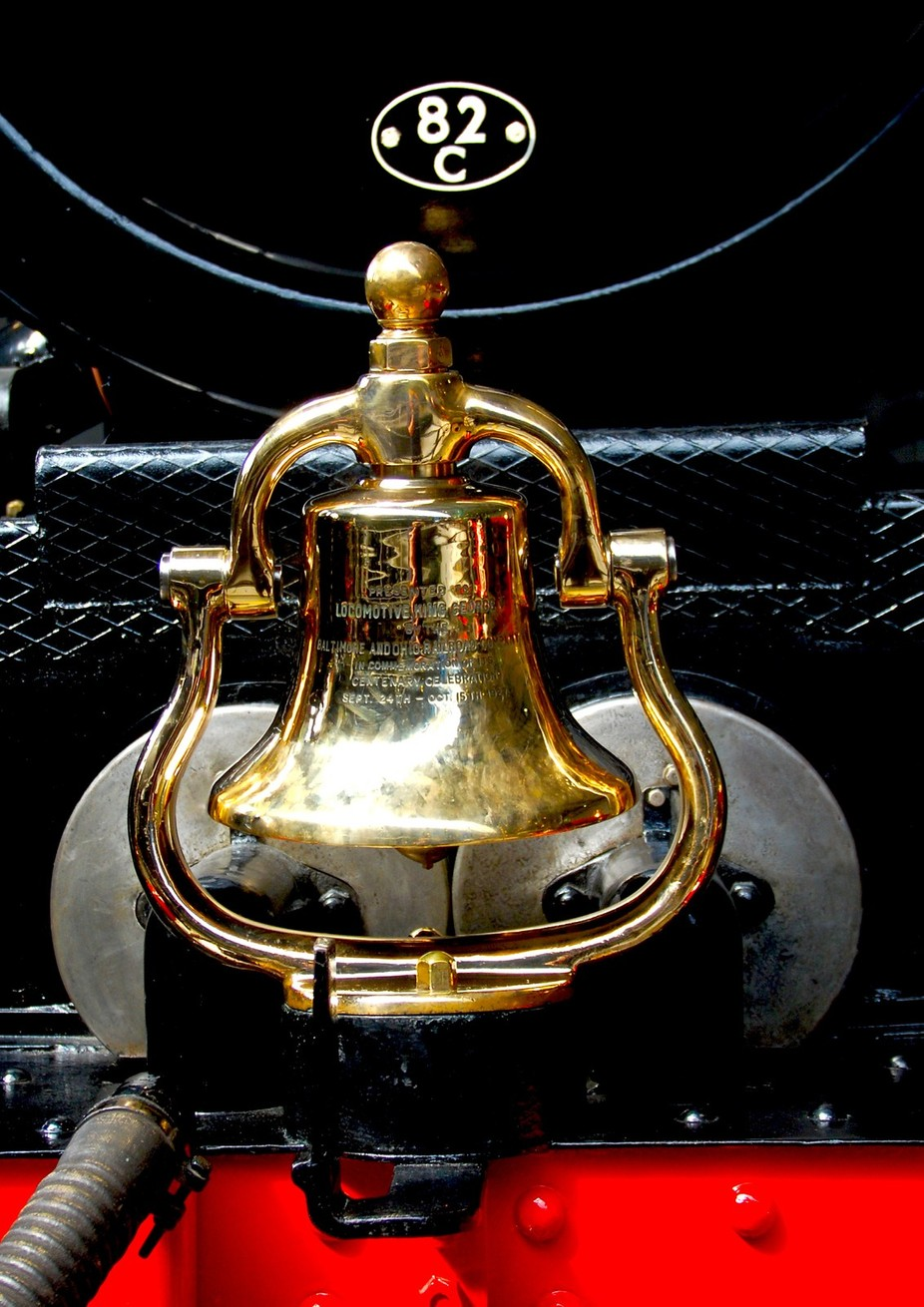 Queen Vic;s Train bell